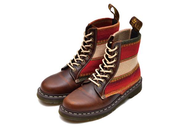 Pendleton x Dr. Martens 8-Eye Boot