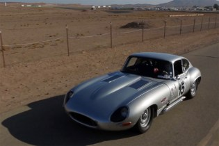 Petrolicious Takes a Look at a Stunning Jaguar E-Type Lightweight