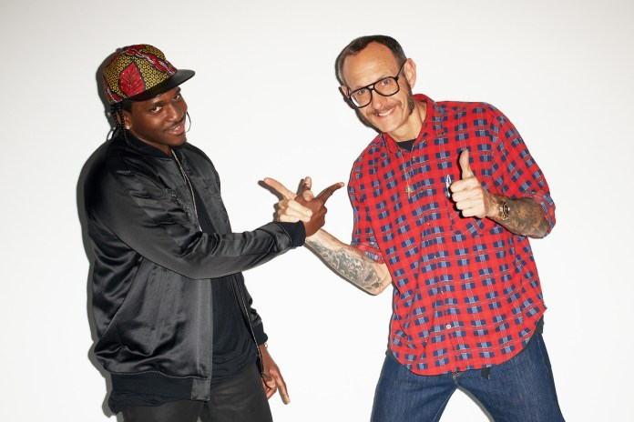 Pusha T Visits Terry Richardson's Studio