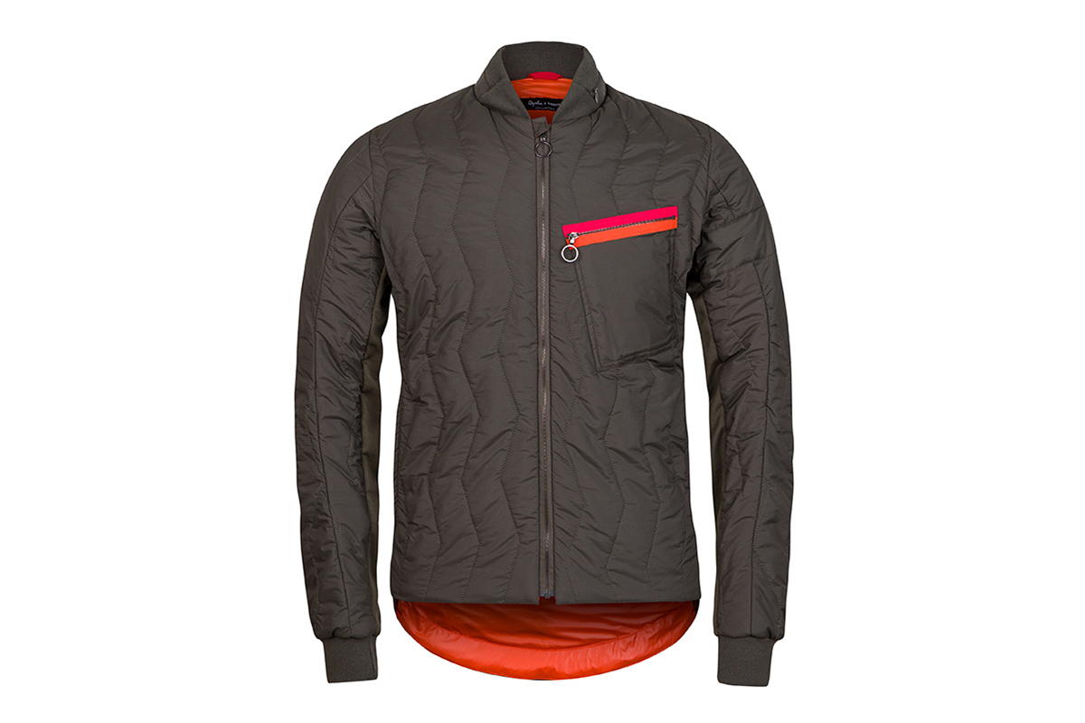 rapha raeburn quilted cycling jacket