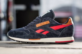 Reebok Classic Leather Utility Reebok Navy/Stadium Red/Sandtrap/Black