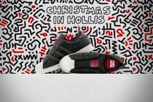 "Run-D.M.C. x Keith Haring x adidas Originals Superstar 80s ""Christmas in Hollis"""