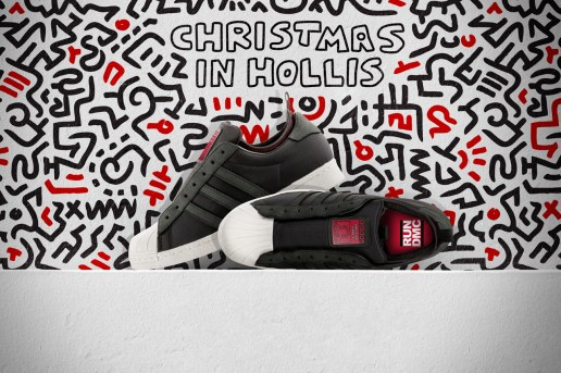 "Run-D.M.C. x Keith Haring x adidas Originals Superstar 80s ""Christmas in Hollis"""