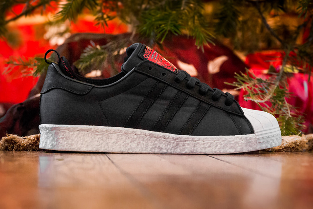 """A Further Look at the Run-D.M.C. x Keith Haring x adidas Originals """"Christmas in Hollis"""" Superstar 80s"""