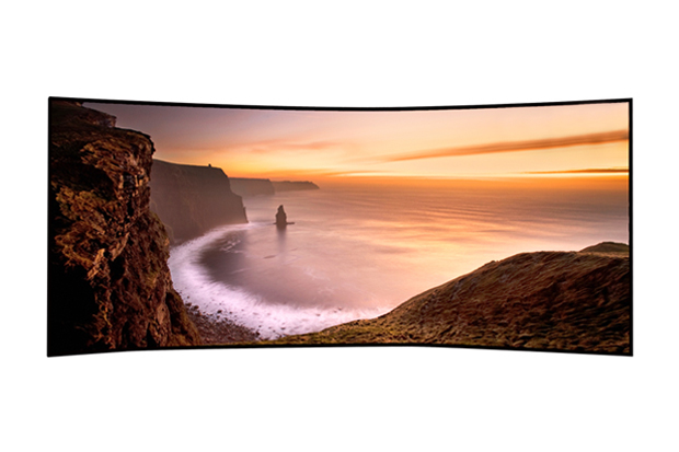 "Samsung 105"" Curved UHD TV"