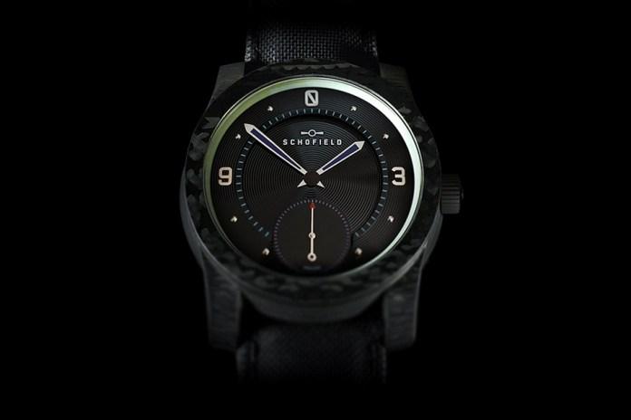Schofield Watch Company Blacklamp Carbon