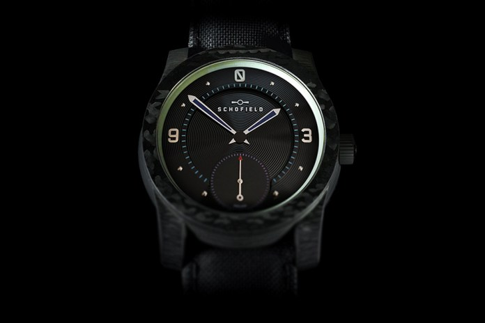 Schofield Watch Company Blacklamp Carbon