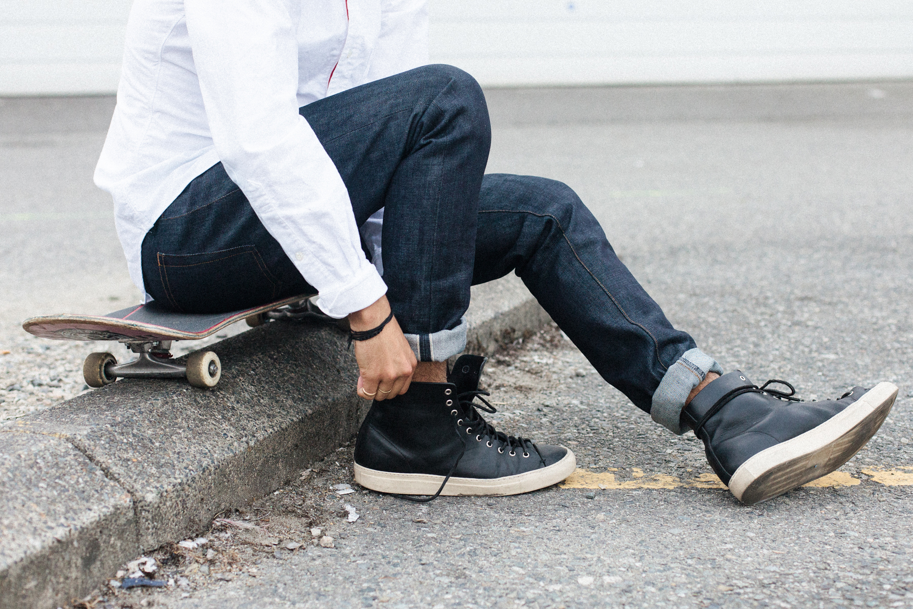 second narrow launches with japanese made water resistant denim