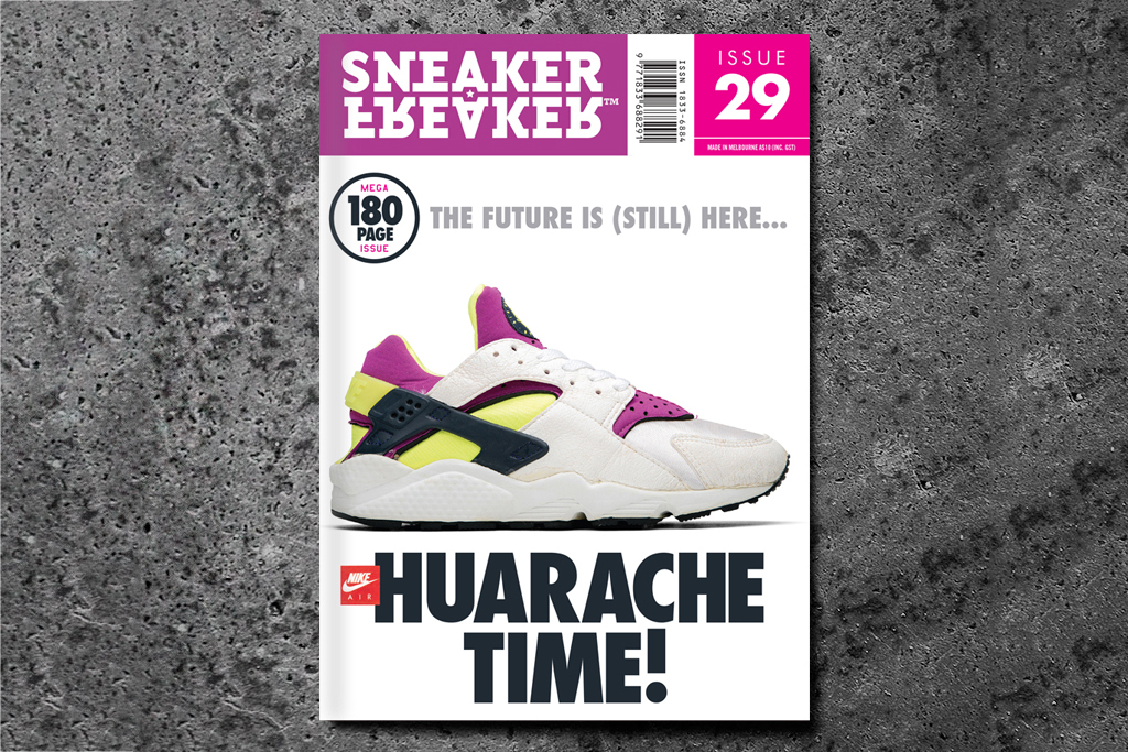 sneaker freaker issue 29 huarache time preview