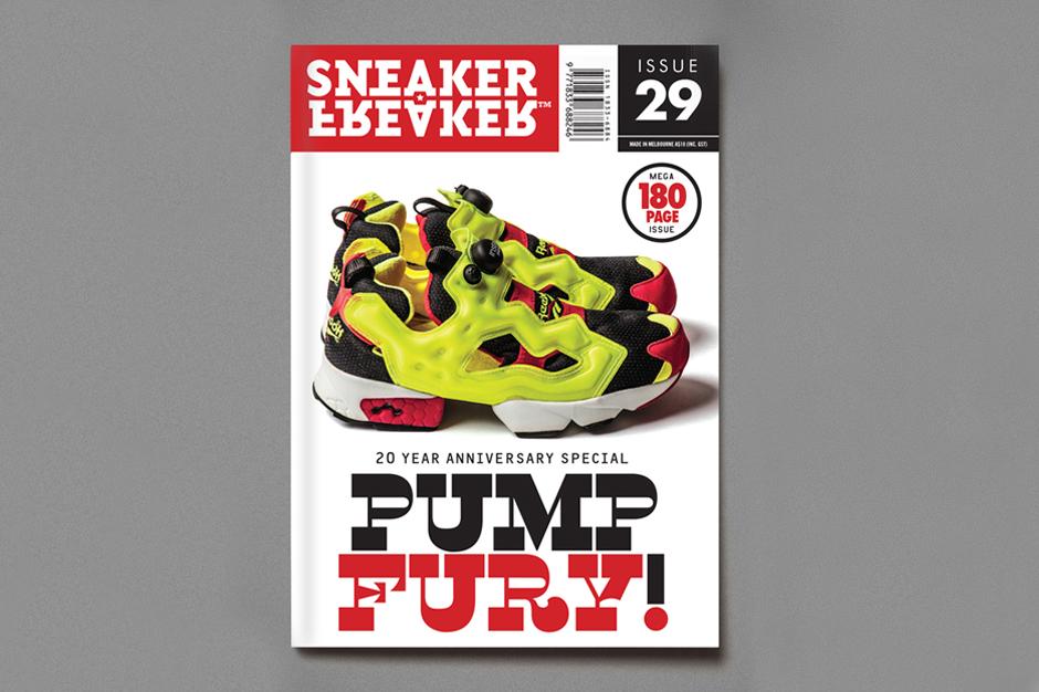 Sneaker Freaker Issue 29 Reebok Pump Fury 20 Year Anniversary Special