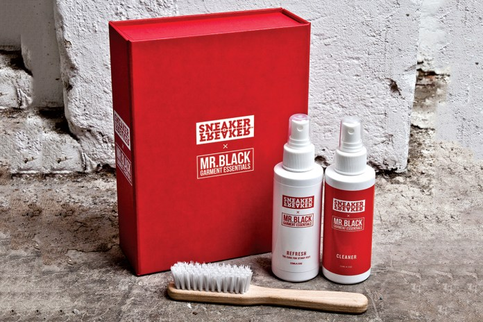 Sneaker Freaker x Mr. Black Garment Essentials Cleaner Kit