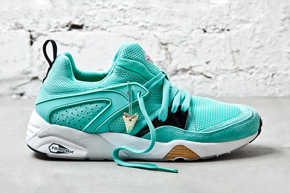 sneaker freaker x puma blaze of glory sharkbait