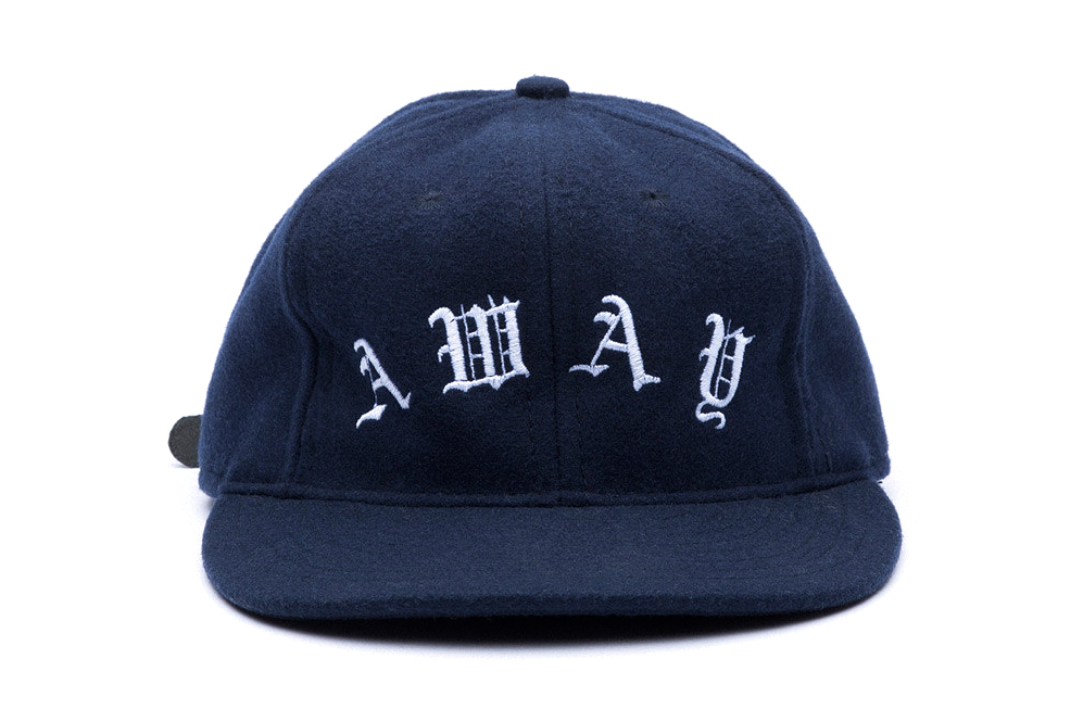 """Soulland x Ebbets Field Flannels 2013 Winter """"Home"""" & """"Away"""" Embroidered Caps"""