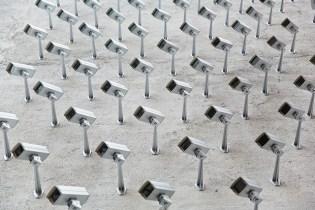 """SpY """"Cameras"""" Street Installation in Madrid"""