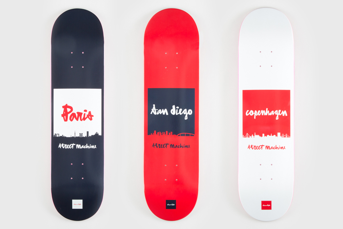"Streetmachine x Chocolate Skateboards 2013 ""City Series"" Collection"