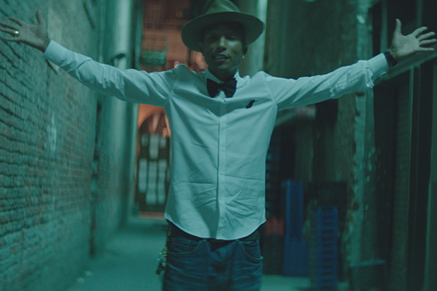 "The Making of Pharrell Williams' ""HAPPY"" Music Video"