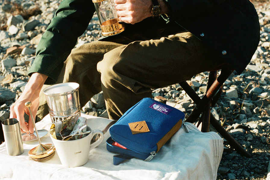 THE NORTH FACE PURPLE LABEL x Hobonichi TNF Field Pack Lookbook