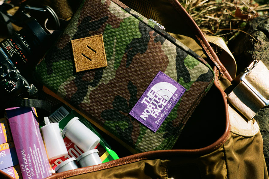 the north face purple label x hobonichi tnf field pack lookbook
