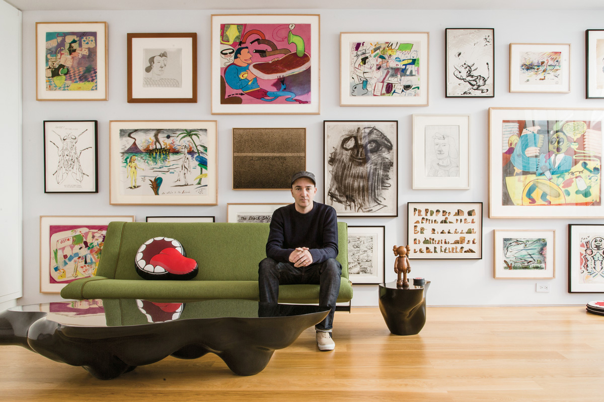 The Personal Art Collections of Jeff Koons, KAWS & More