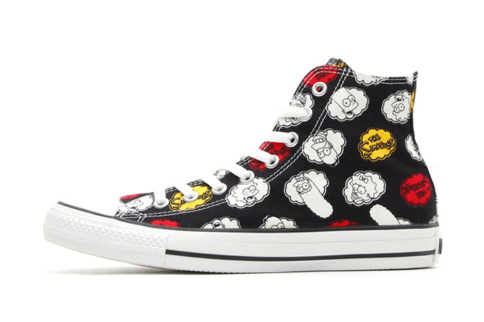The Simpsons x Converse 2014 Spring Chuck Taylor All Star Hi