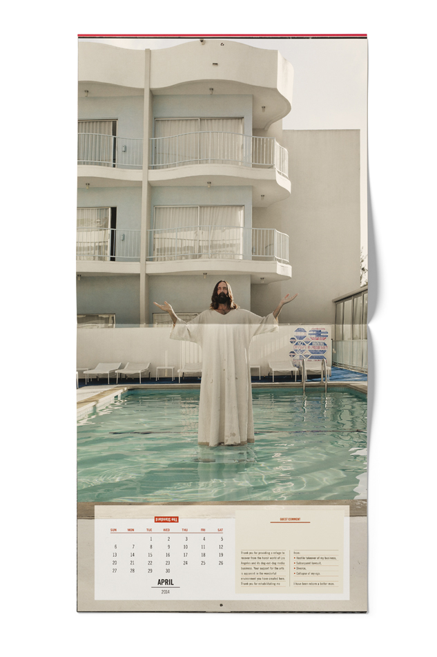 the standard hotel 2014 a year of unusual requests calendar