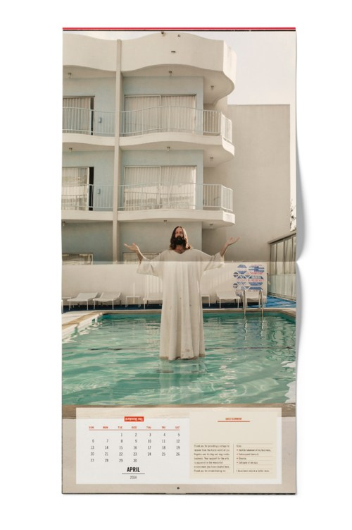 """The Standard Hotel 2014 """"A Year of Unusual Requests"""" Calendar"""