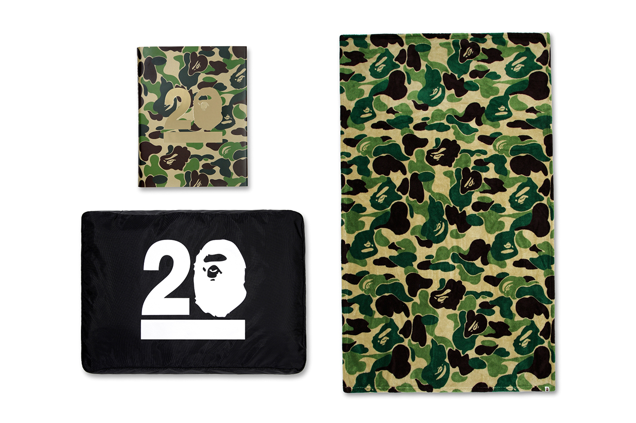 the story of a bathing ape 20th anniversary limited edition book
