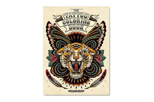 The Tattoo Coloring Book by Megamunden