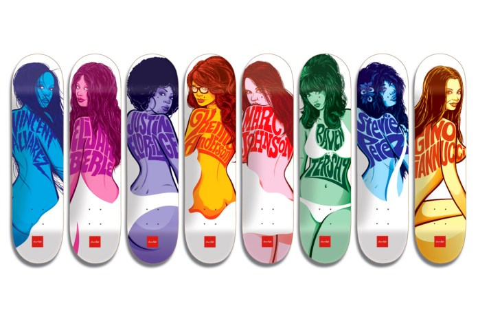 "Todd Bratrud x Chocolate Skateboards ""Chocolate Girls"" Series"