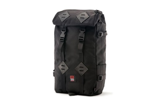Topo Designs Ballistic Black Collection