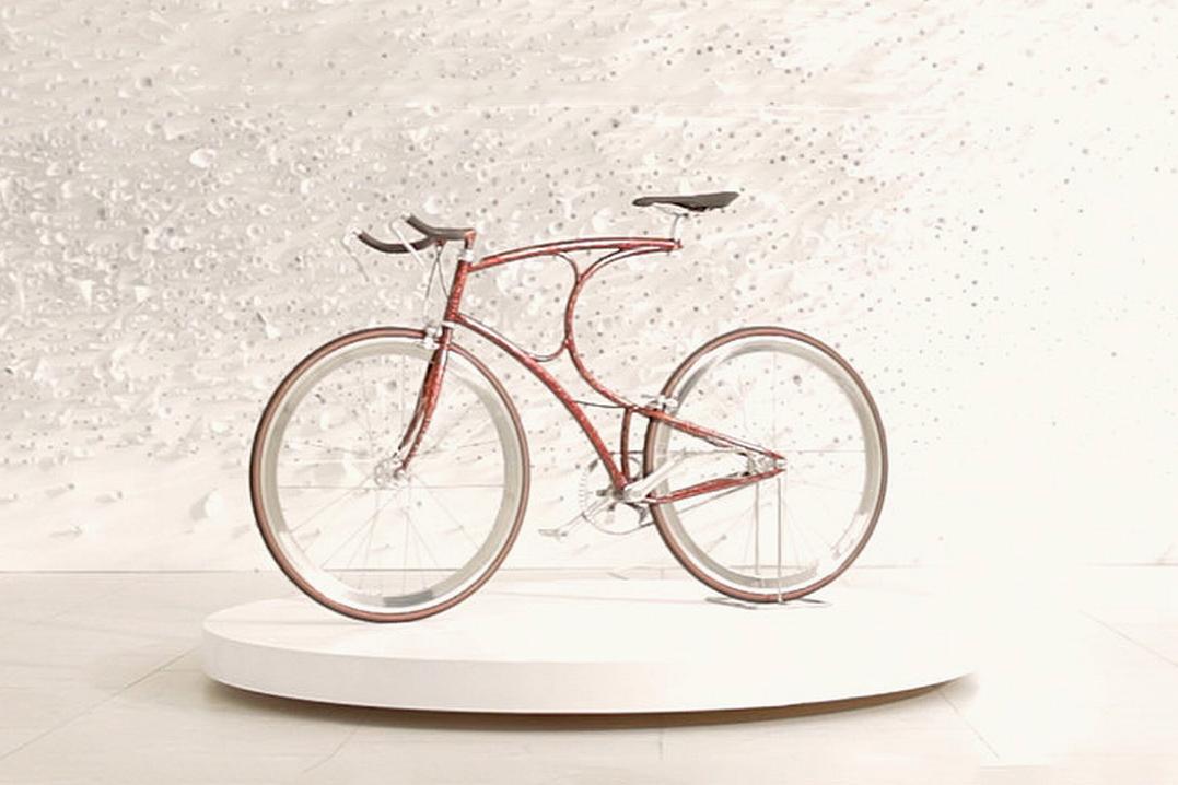 Vanhulsteijn x Sotheby's Urushi Bicycle Project