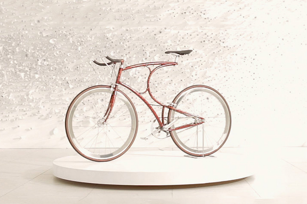 Vanhulsteijn x Sotheby's Urushi Bicycle Project
