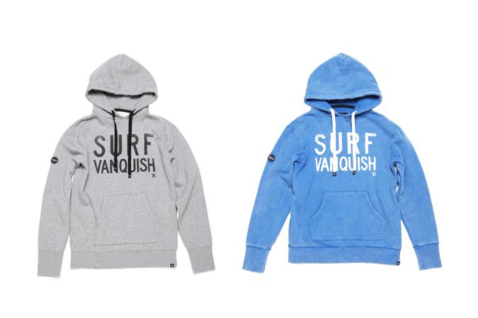 "VANQUISH x Hurley 2013 Fall/Winter ""SURF"" Sweatshirt"