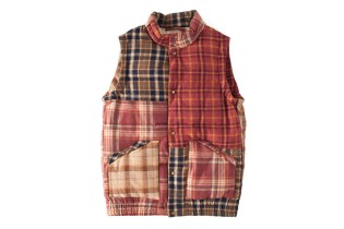 visvim 2013 Fall/Winter INSULATOR DOWN VEST P.W. (WOOL)