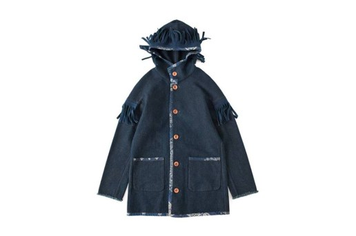 F.I.L. Indigo Camping Trailer 2013 Holiday HOODED JACKET