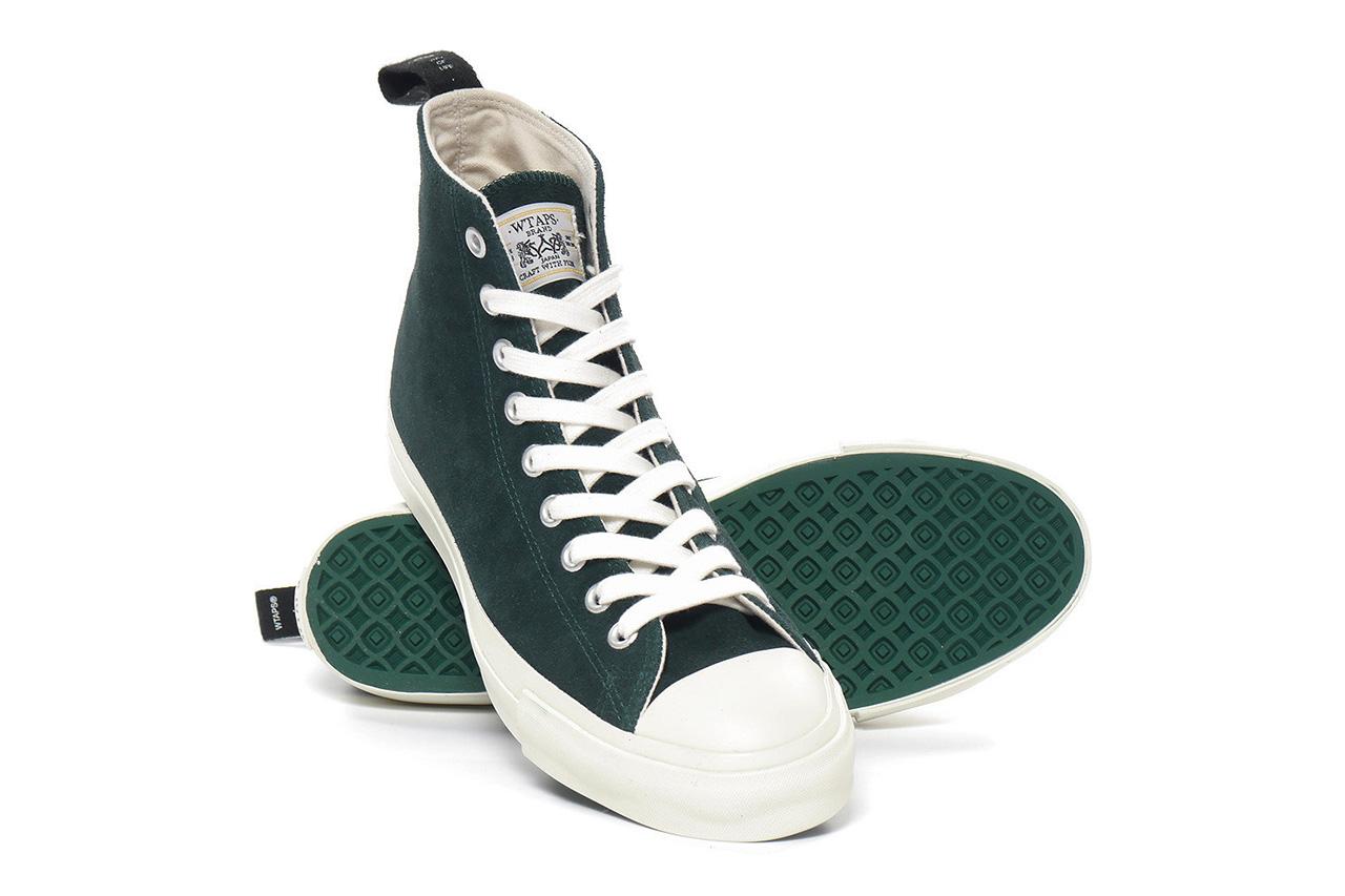 WTAPS Suede Hi Top Sneakers