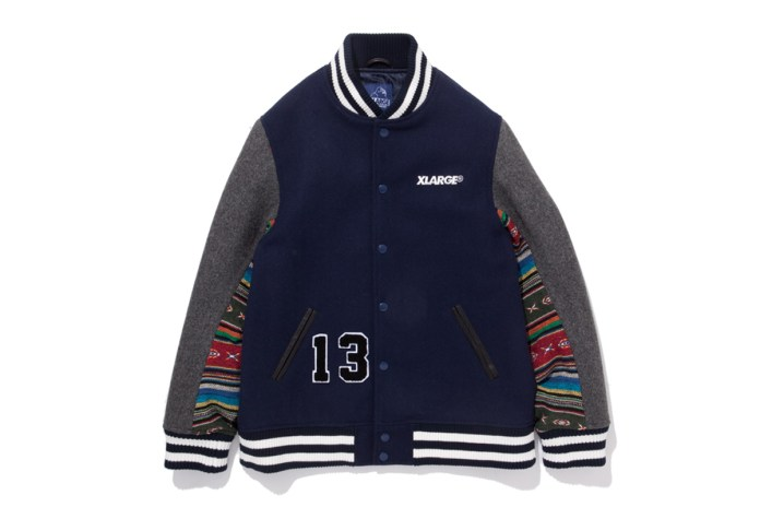 """XLARGE 2013 Holiday """"00-99"""" Varsity Jacket"""