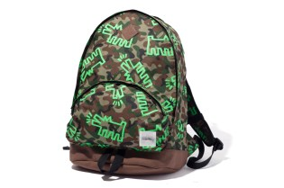 "XLARGE x Keith Haring ""Camo Dog"" Backpack Collection"