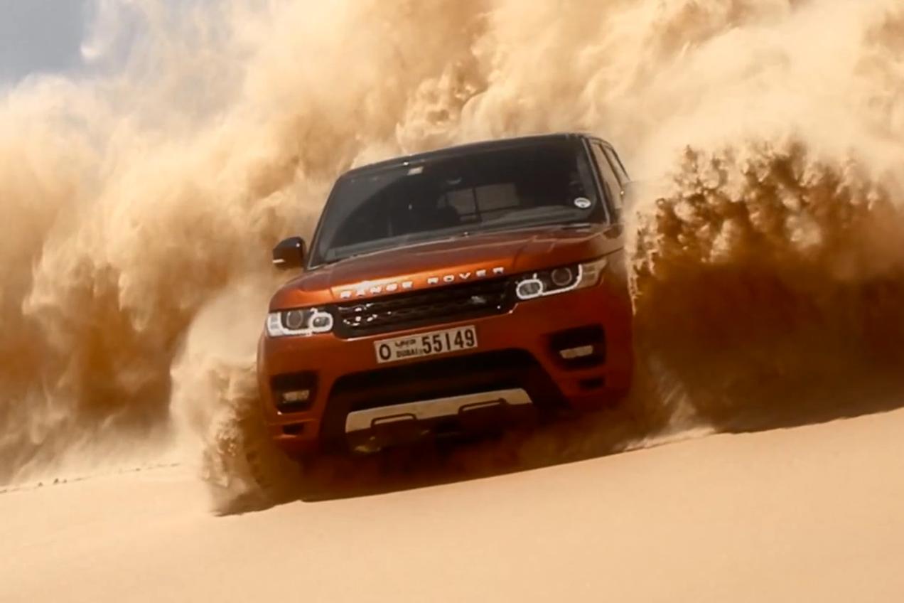 2014 Range Rover Sport Sets Record in Empty Quarter Driven Challenge