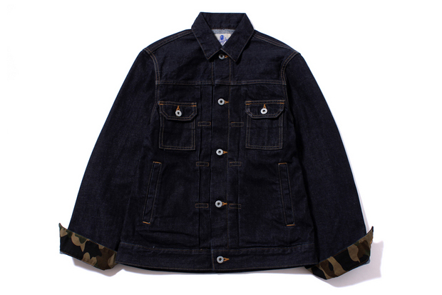 A Bathing Ape 2014 Spring/Summer Denim Jacket