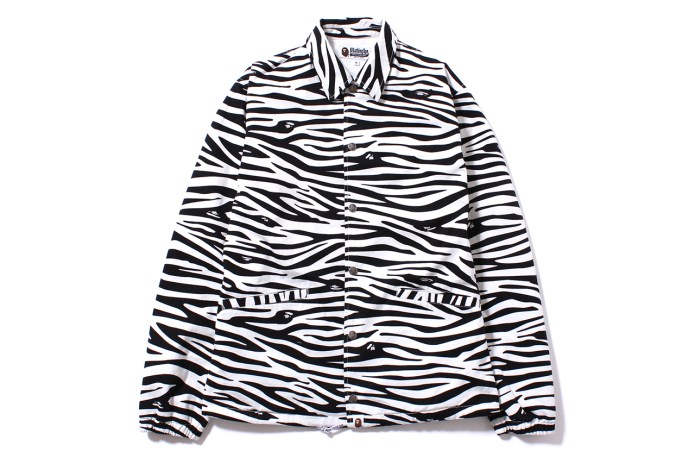 A Bathing Ape 2014 Spring Zebra Pattern Collection