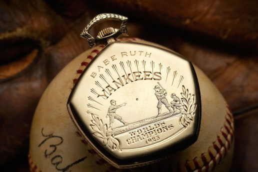 A Look at Babe Ruth's 1923 Yankees World Series Gruen Pocket Watch