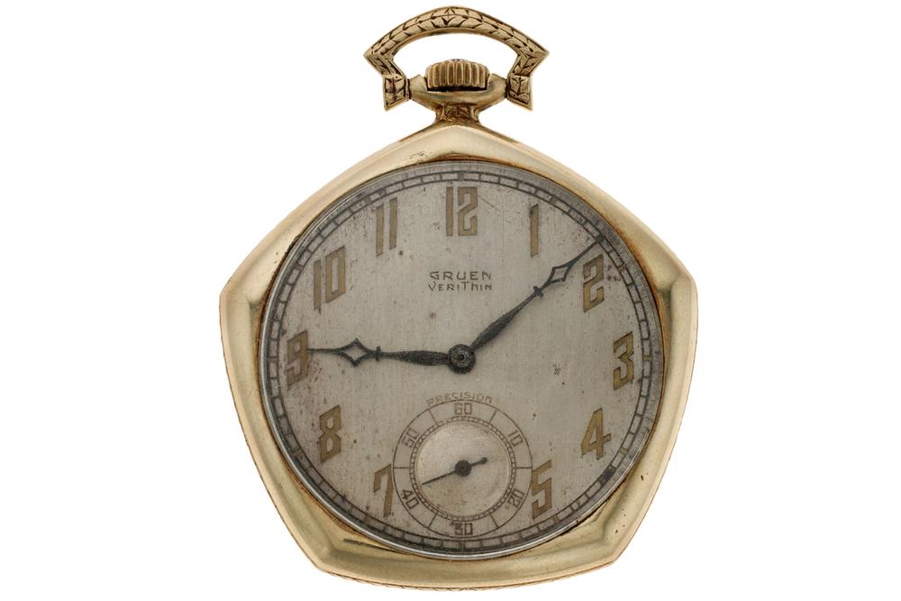 A Look at Babe Ruth's 1923 Yankees World Series Gruen Pocket Watch