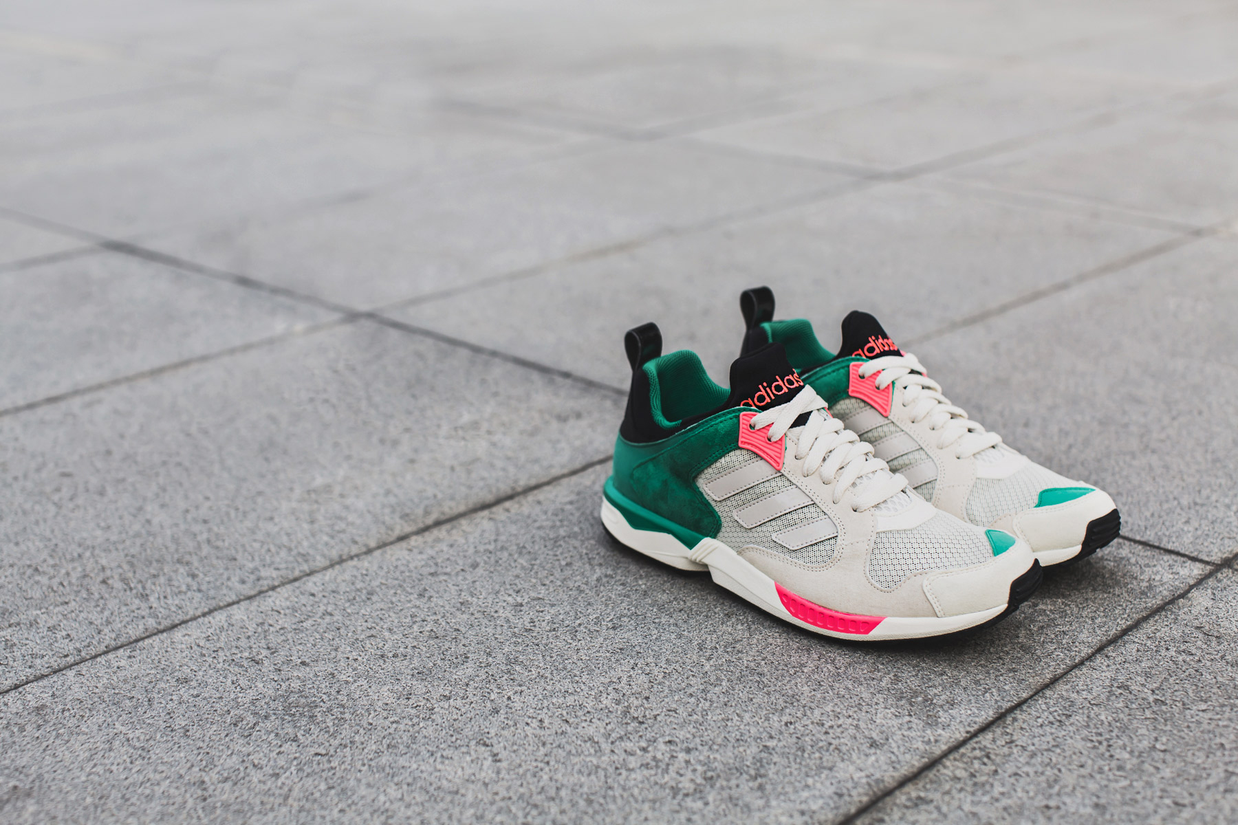 adidas Originals ZX5000 Ecru/Red Zest