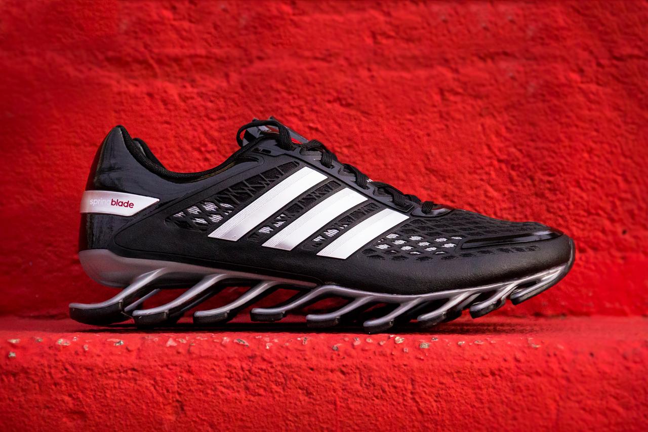 adidas Springblade Razor Solid Blue & Black/Silver/Red