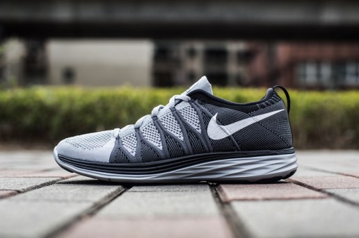 "An Exclusive Look at the Nike Flyknit Lunar 2 ""Wolf Grey"""