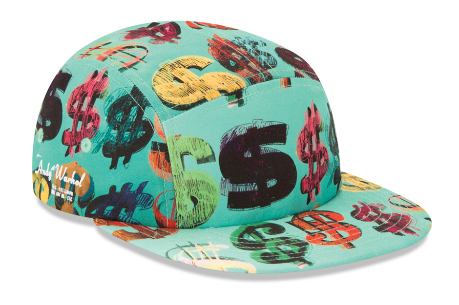 the andy warhol foundation x new era cha ching camper