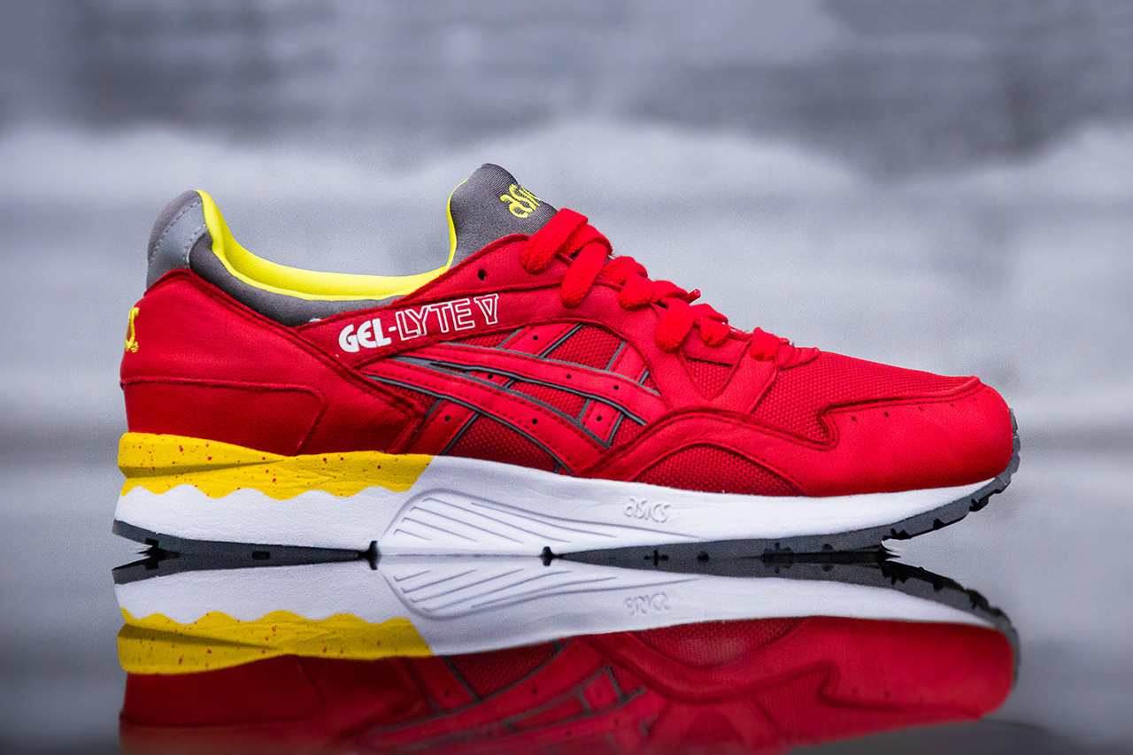 asics gel lyte v fiery red
