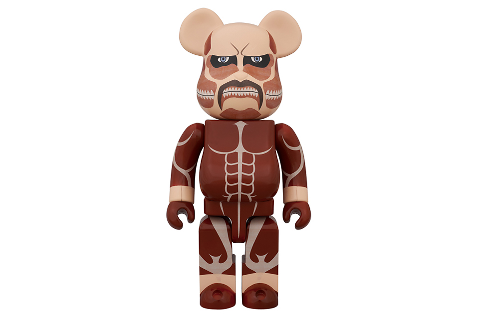 Attack on Titan x Medicom Toy 400% Bearbrick