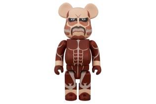Attack on Titan x Medicom Toy 400% Bearbrick